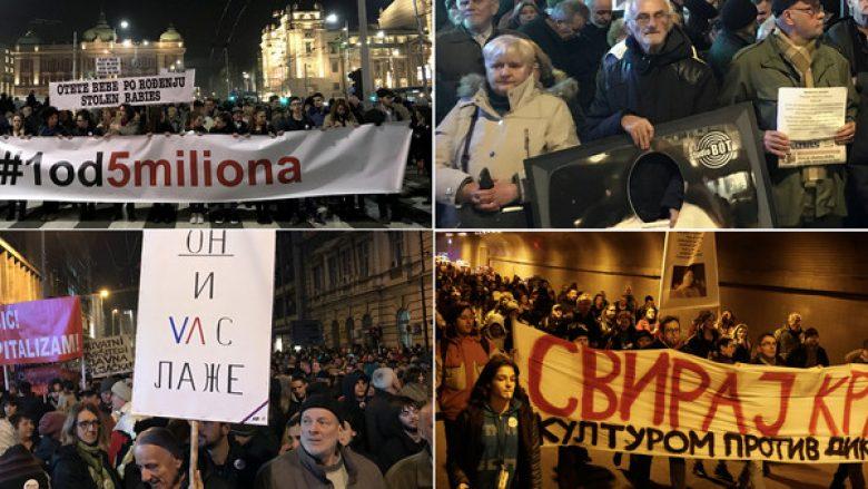 Vazhdojnë protestat në Serbi, kërkohet dorëheqja e Vuçiqit (Video)