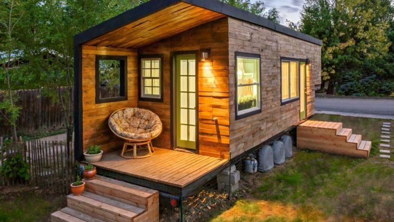 Shtëpiza e përrallave: Shtëpiza nga druri prej 18 m katrorë në të cilën do të dashuroheni