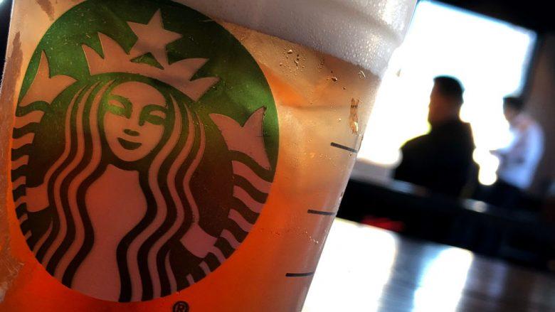 Gota e Starbucks (Foto: Justin Sullivan/Getty Images/Guliver)