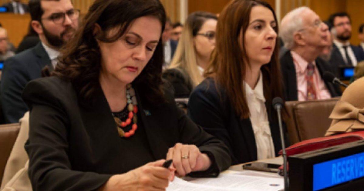 Reagimi i bashkësisë hebreje në Kosovë për injorimit të konsulles Teuta Sahatqija nga ambasadorja e Shqipërisë në OKB