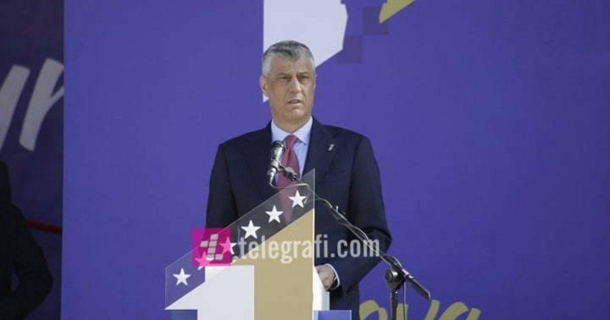 Thaçi: Ushtria e Kosovës, krenaria jonë