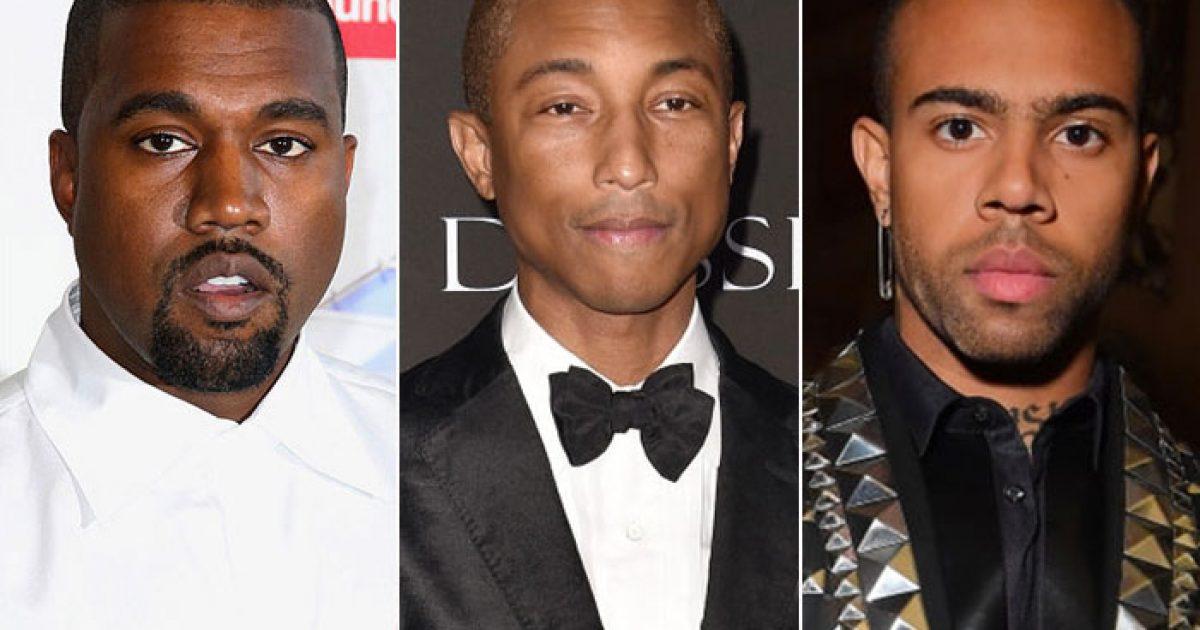 Kanye West, Pharrell dhe Vic Mensa me bashkëpunim