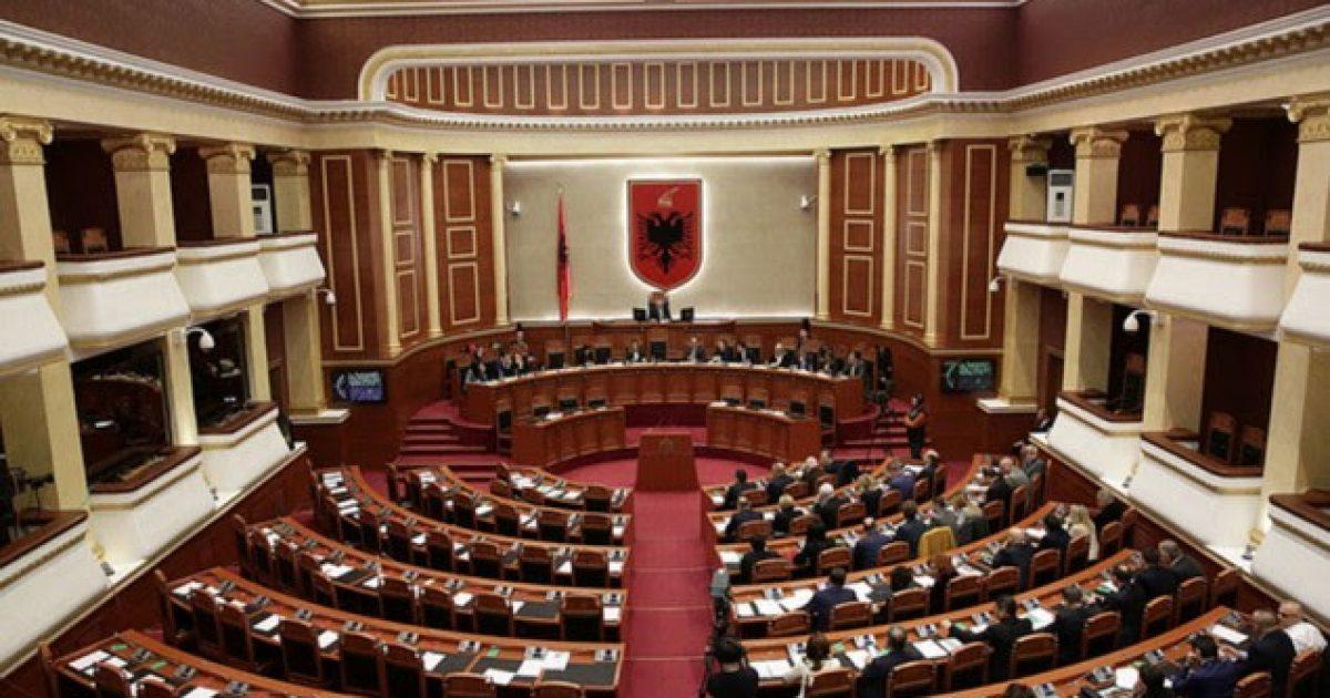 Protesta e opozitës, Kuvendi anulon seancën e së enjtes