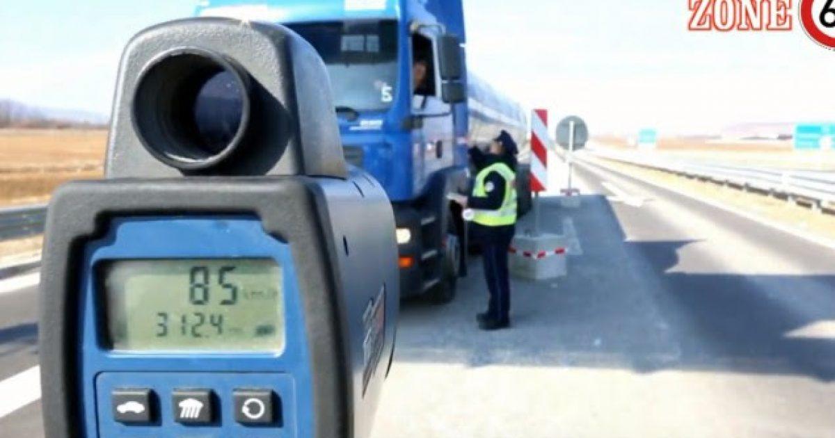 Policia me angazhim shtesë në kontrollimin e shpejtësisë në autostrada (Video)