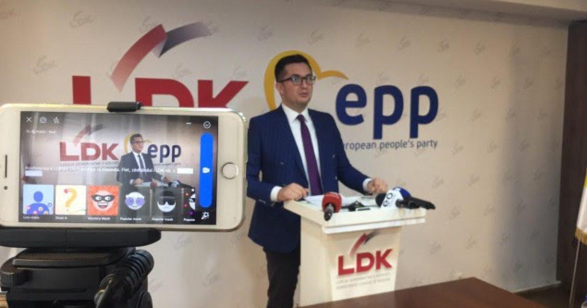 LDK: Qeveria po përpiqet t'i mbuloi dështimet