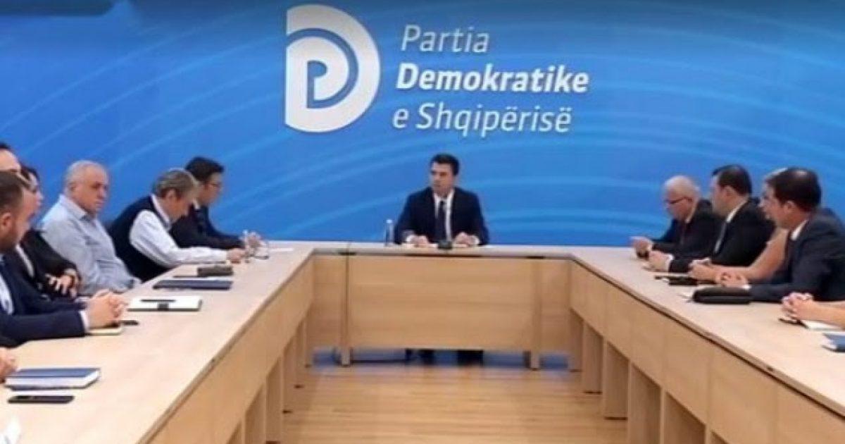 Kryesia e PD-së voton unanimisht djegien e mandateve
