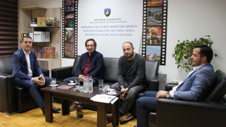 """Ministri Gashi uron që filmi """"Në mes"""" të arrijë ndonjë çmim në festivalin """"Berlinale"""""""