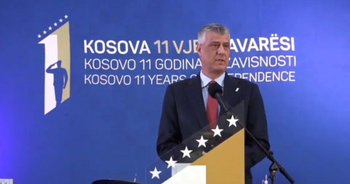 Pavarësia e Kosovës rezultat i sakrificave, s'ka kthim prapa
