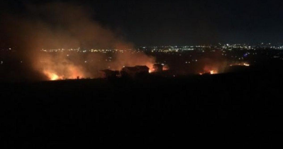 Zjarr në Veternik të Prishtinës