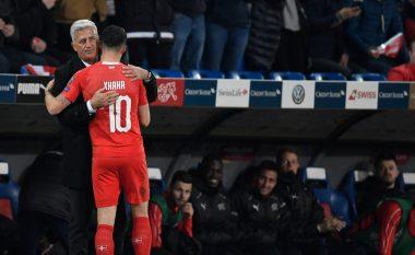 Petkovic tregon arsyen e zëvendësimit të Xhakës: Ai pësoi një lëndim