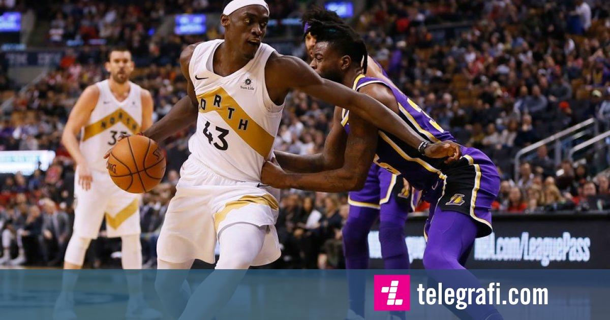 Toronto triumfon pa problem përballë Lakers, Oklahoma pëson nga Indiana Pacers
