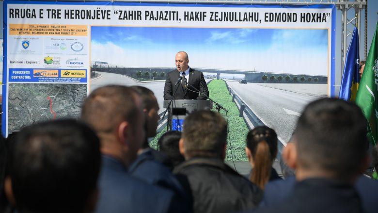 Haradinaj: BE e SHBA të na ndihmojnë për arritjen e një marrëveshje Kosovë-Serbi