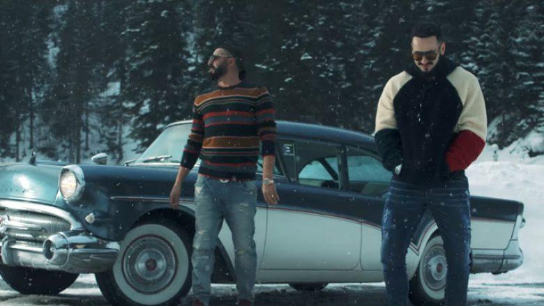 """2po2 dhe Capital T në klipin e këngës """"Borëbardha"""" (Foto: Screenshot/YouTube/2po2)"""