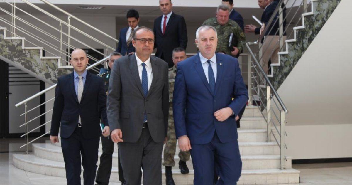 Rrustem Berisha priti sot ambasadorin e Turqisë në Kosovë Ҫagri Sakar