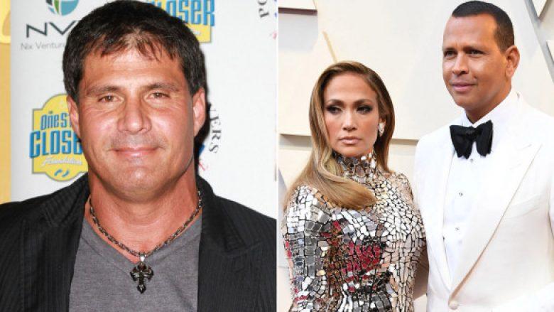 Jose Canseco; Jennifer Lopez dhe Alex Rodriguez