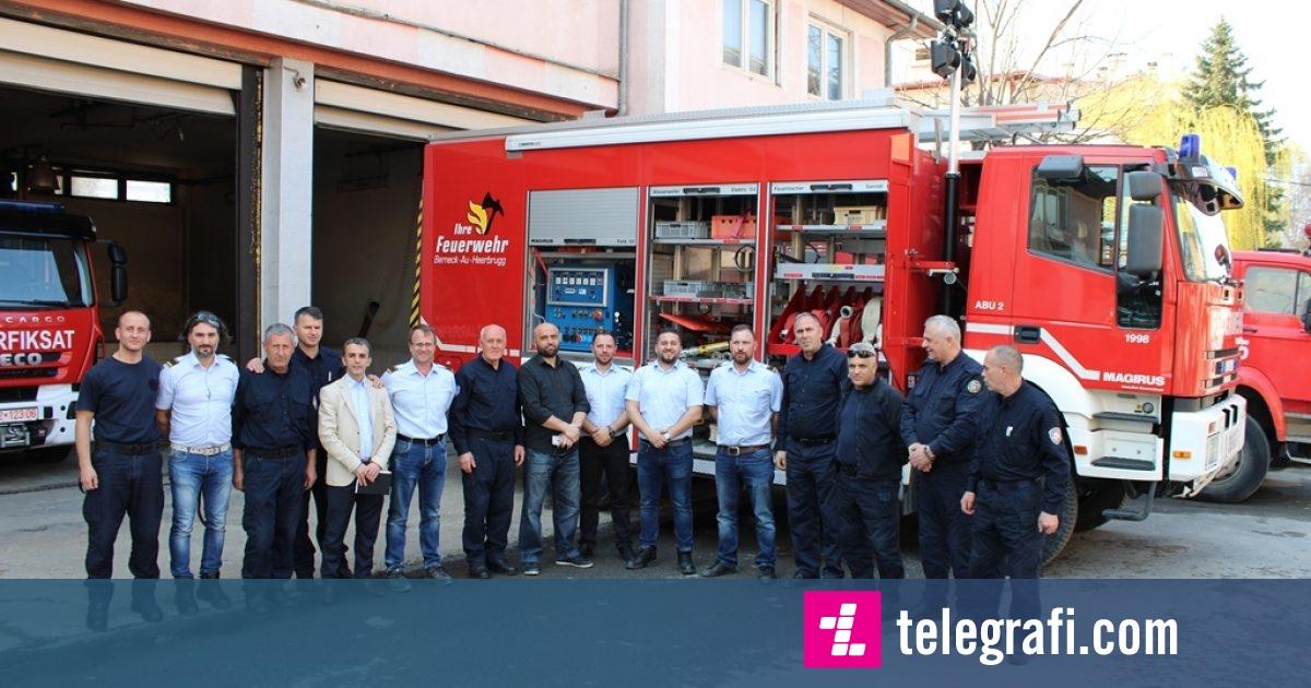 Gjilani pranon një automjet për fikjen e zjarreve donacion nga Zvicra