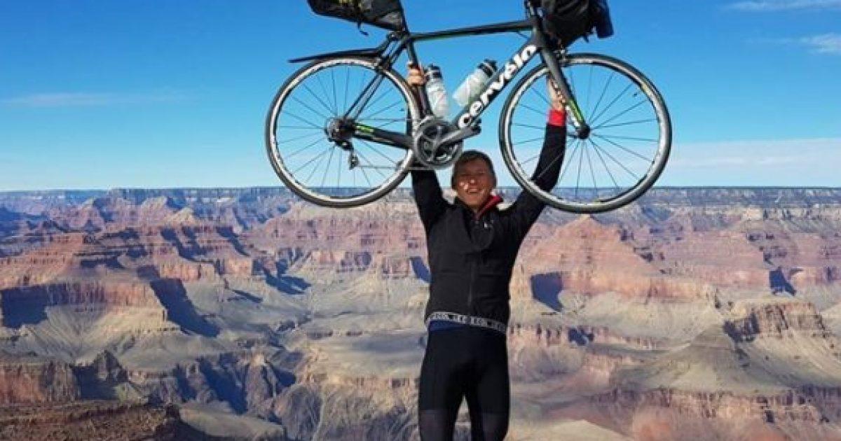 Me biçikletë rreth botës