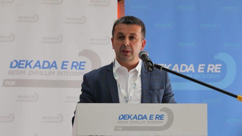 PDK mbyll procesin zgjedhor në Dragash, Vehbi Nazifi zgjidhet kryetar i degës