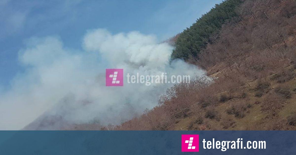 Vazhdon djegia e pyjeve të Kosovës (Video)
