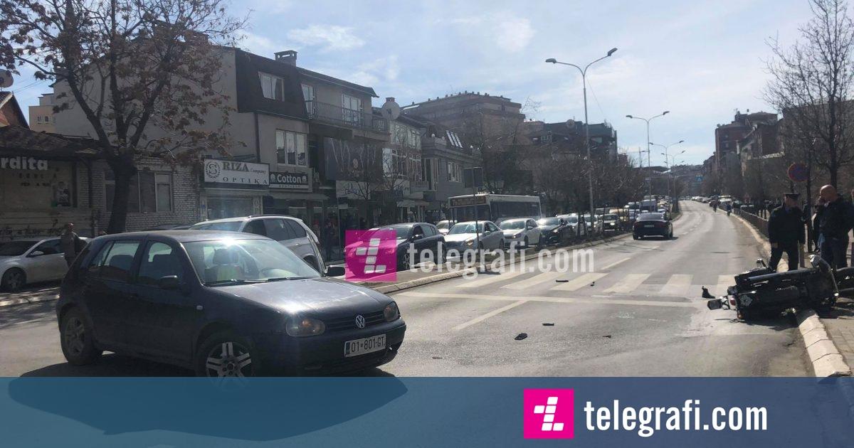 Policia jep detaje rreth aksidentit në Prishtinë