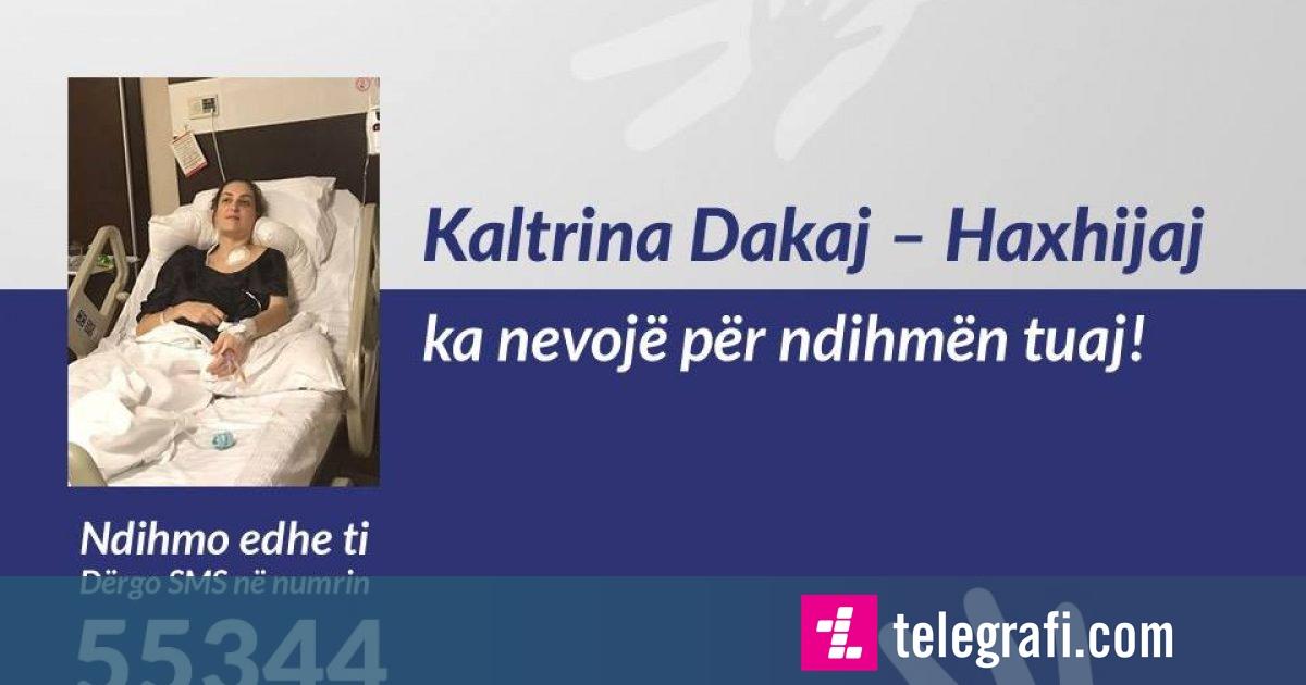 Kaltrina Dakaj-Haxhijaj, nënë e dy fëmijëve ka nevojë për ndihmën tuaj