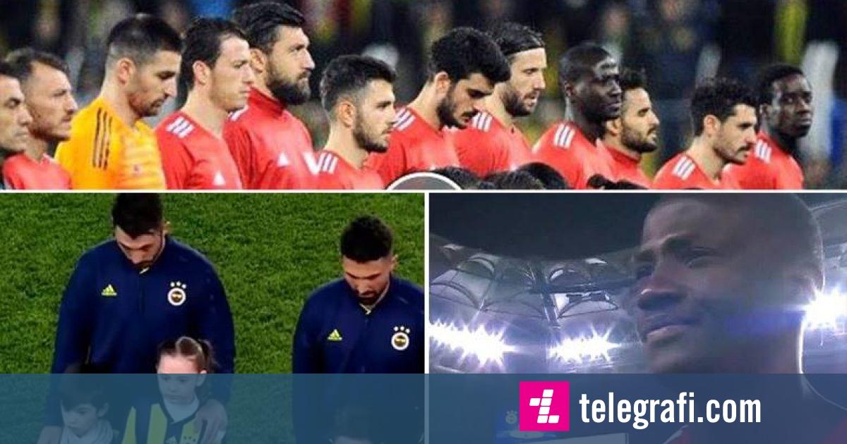 Ndeshja derbi në Turqi fillon me lutje për të vdekurit në Zelandë të Re, disa lojtarë nuk i ndalin lotët