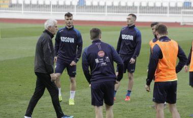 Kosova mban stërvitje, atmosferë e mirë dhe punë për ndeshjen me Danimarkën