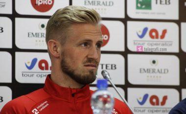Schmeichel: Kjo është e bukura e futbollit, ta mundëson të vizitosh shumë vende - na kanë treguar për Kosovën, e dimë si luajnë