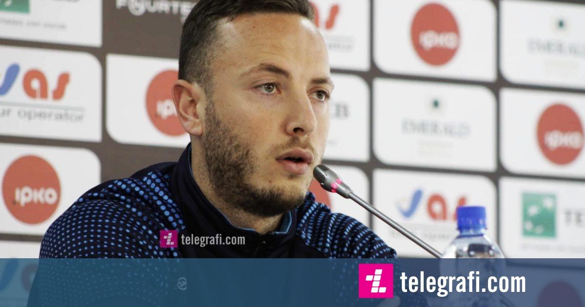 Rrahmani: Duhet të luajmë si skuadër ndaj Danimarkës, duhet të provojmë në kundërsulme