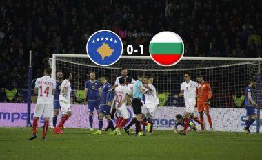 Kosovë 0-1 Bullgari, statistikat e pjesës së parë