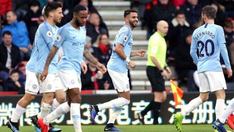 Riyad Mahrez, Manchester City, Bournemouth (Foto: Richard Heathcote/Getty Images/Guliver)