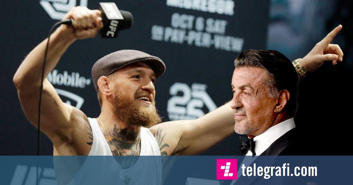 Sylvester Stallone me këshilla për Conor McGregor