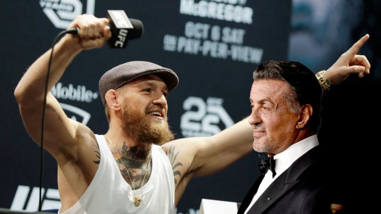 Conor McGregor, Sylvester Stallone (Fotomontazh: Getty Images/Guliver)