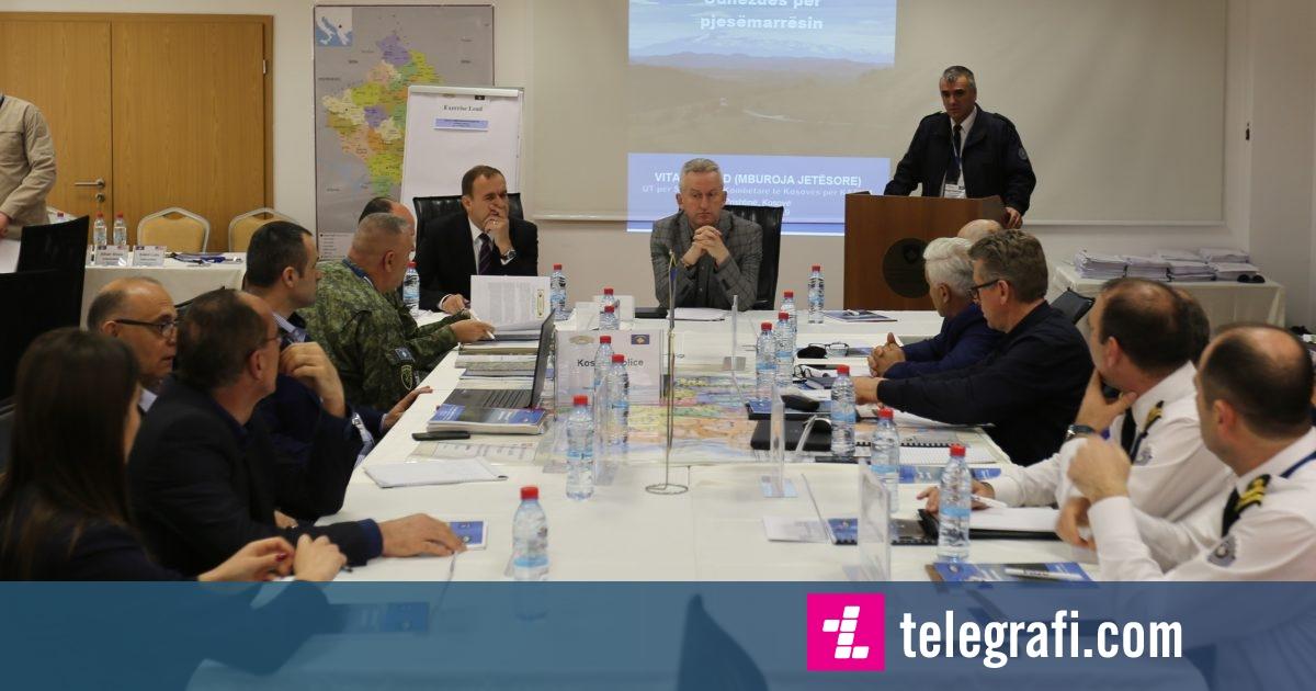 Ministria e Punëve të Brendshme mban ushtrim tavoline të simuluar për masat ndaj armëve të shkatërrimit në masë