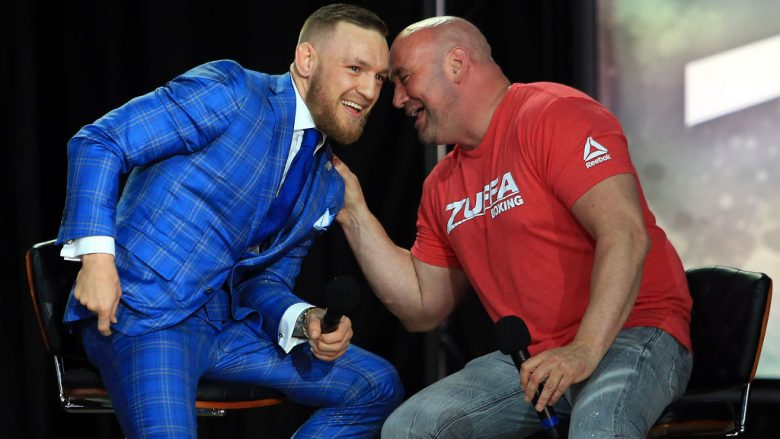 Conor McGregor dhe Dana White (Foto: Vaughn Ridley/Getty Images/Guliver)