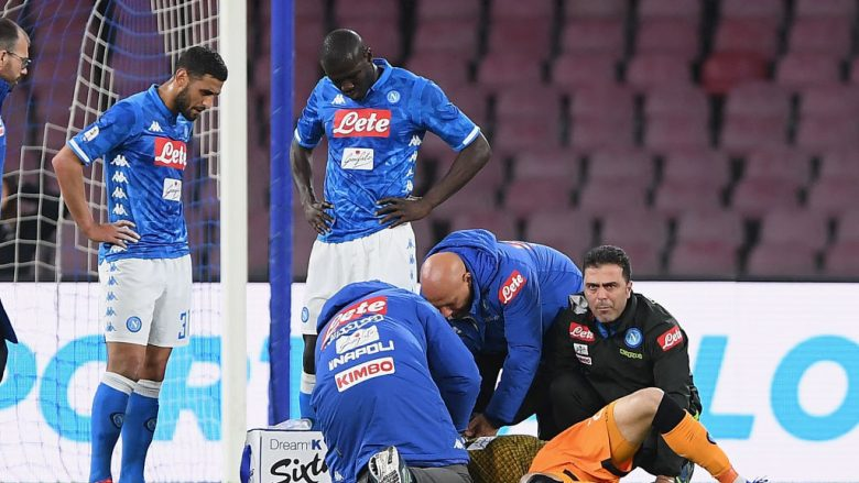 David Ospina u lëndua në ndeshjen ndaj Udineses (Foto: Francesco Pecoraro/Getty Images/Guliver)
