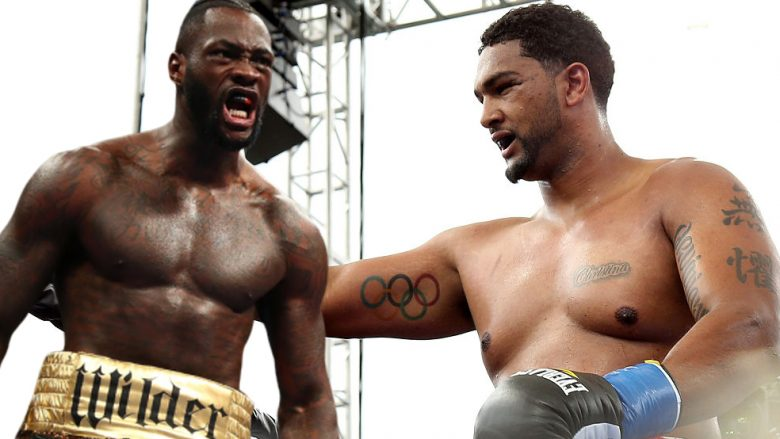 Deontay Wilder dhe Dominic Breazeale (Fotomontazh: Getty Images/Guliver)