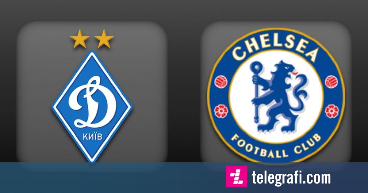 Formacionet zyrtare, Dinamo Kiev- Chelsea