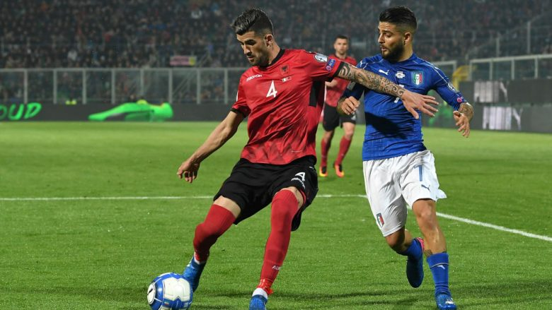 Elseid Hysaj dhe Lorenzo Insigne (Foto: Valerio Pennicino/Getty Images/Guliver)