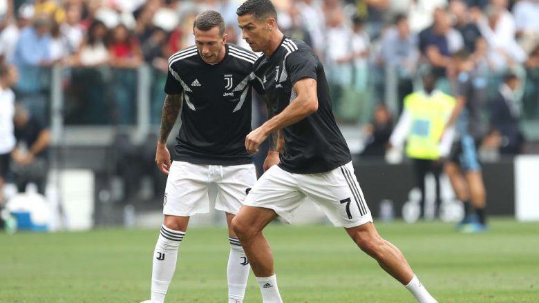 Federico Bernardeschi dhe Cristiano Ronaldo (Foto: Marco Luzzani/Getty Images/Guliver)