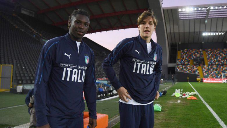 Moise Kean dhe Nicolo Zaniolo.  (Foto: Claudio Villa/Getty Images/Guliver)