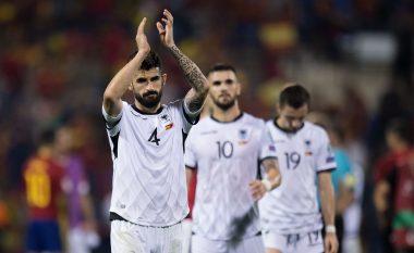 Shqipëria e mbyll pjesën e parë në epërsi ndaj Andorrës