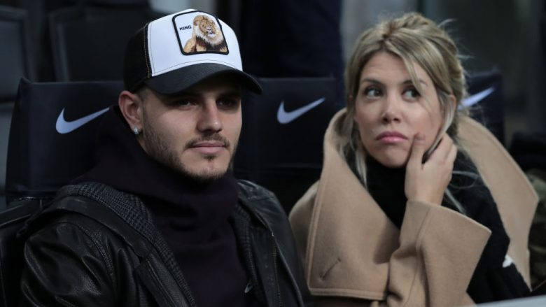 Mauro Icardi dhe Wanda Nara  (Foto: Emilio Andreoli/Getty Images/Guliver)