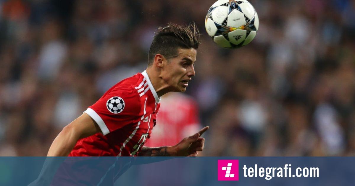 Bayerni i pamëshirshëm ndaj Mainzit, het-trik nga James