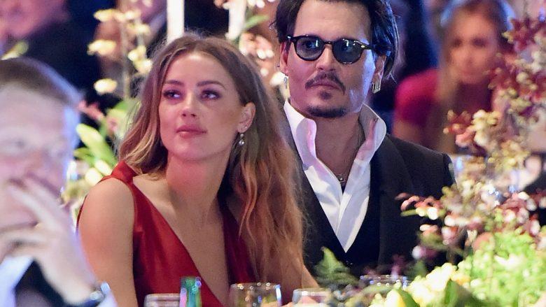 Amber Heard dhe Johnny Depp (Foto: Jason Merritt/Getty Images for Art of Elysium/Guliver)