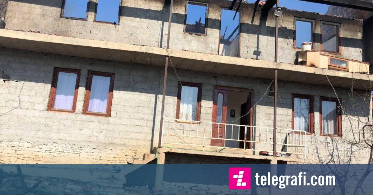 Digjet një shtëpi në fshtin Kërvasari të Malishevës