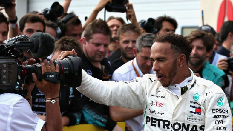 Lewis Hamilton (Foto by Charles Coates/Getty Images/Guliver)