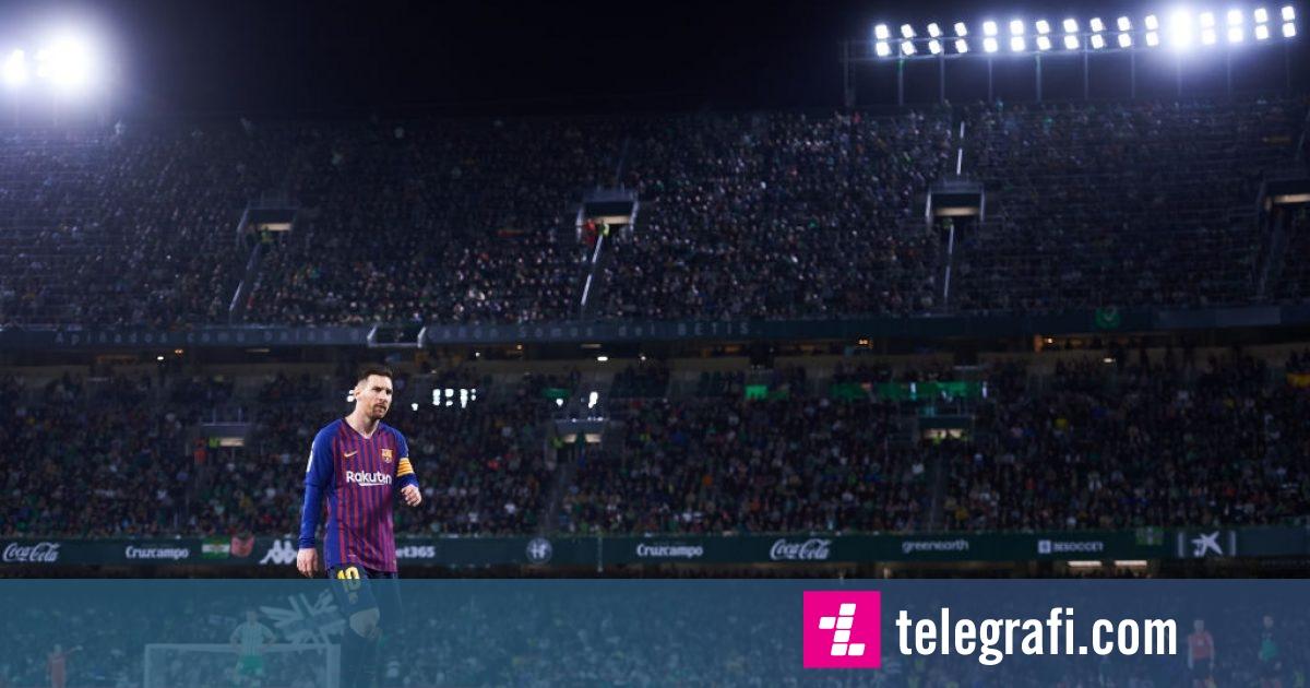 Messi befasohet nga tifozët e Betisit: Nuk mbaj mend të më kenë duartrokitur tifozët kundërshtarë