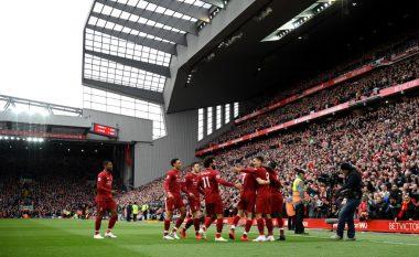 Liverpooli fiton kryendeshjen ndaj Tottenhamit dhe rikthehet në krye