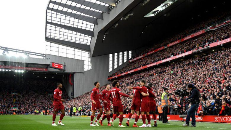 Festa e lojtarëve të Liverpoolit (Foto: Shaun Botterill/Getty Images/Guliver)